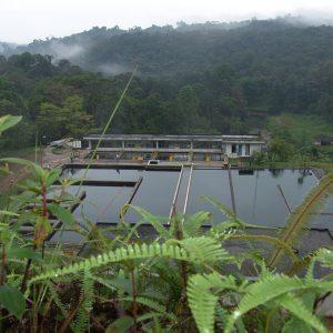 La Planta de Escalerete hace el proceso de potabilización del agua para abastecer a un 30% de la ciudad.