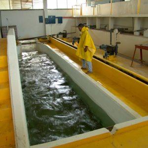 La Planta de Venecia potabiliza el agua para abastecer al 70% de la ciudad.